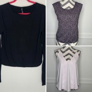 VIMMIA Bundle of 3 WORKOUT Top Size M NWT
